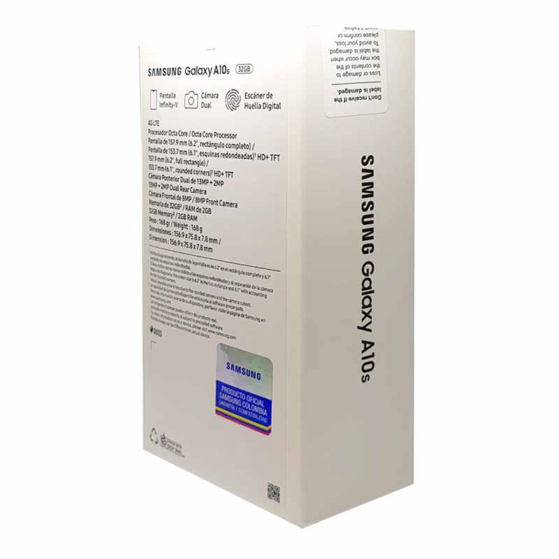 Samsung A10S caja