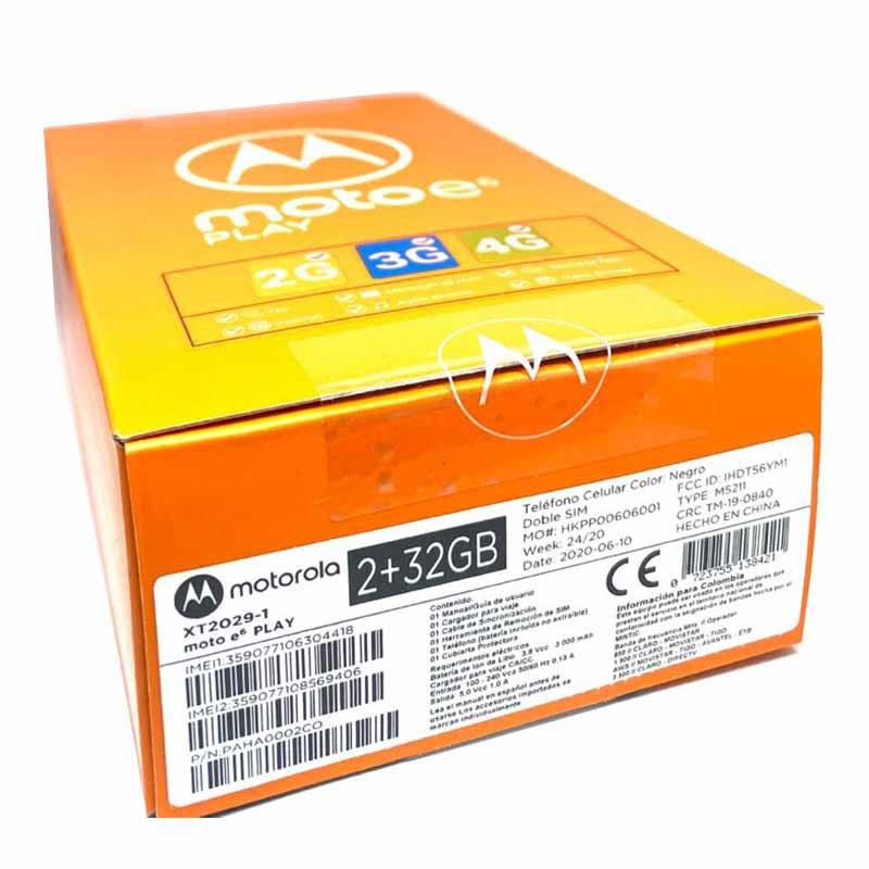 Caja Moto E6 PLAY